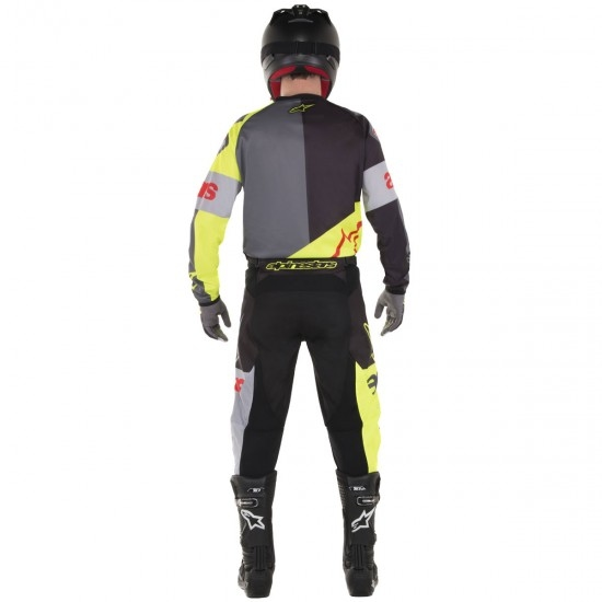 Hose ALPINESTARS Racer 2018 Flagship Yellow Fluo / Black / Anthracite