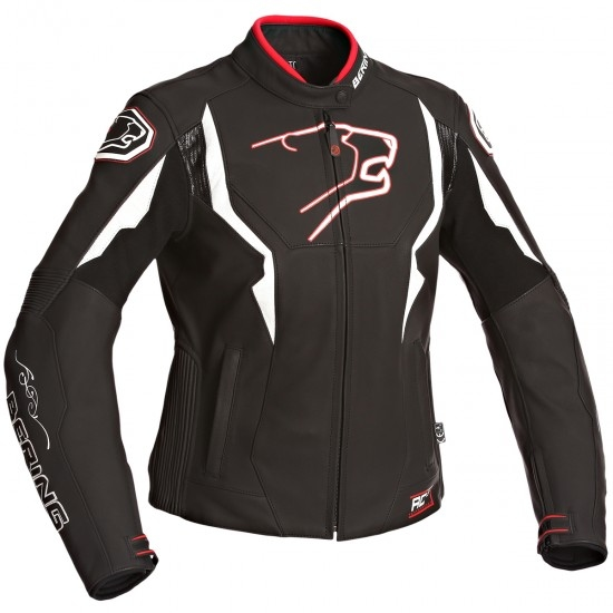 BERING Agera-R Lady Black / White / Red Jacket
