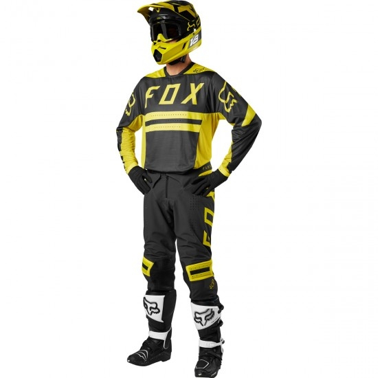 Pantalone FOX Flexair 2018 Preest Dark Yellow