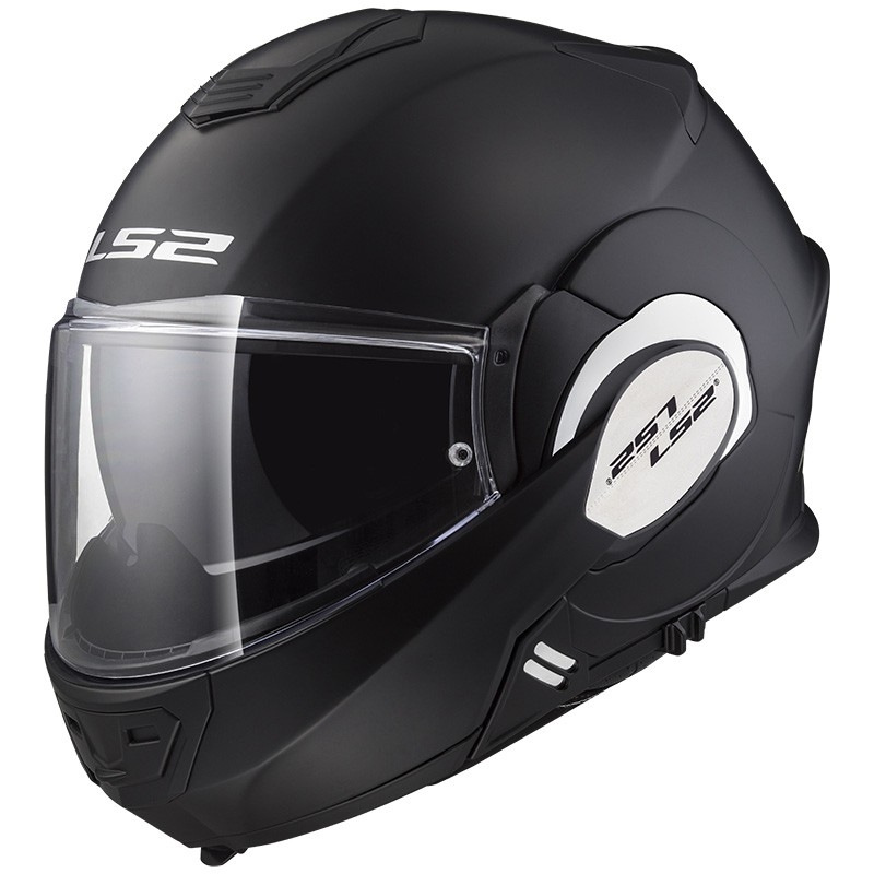 65f5079b93739 Casco LS2 FF399 Valiant Matt Black · Motocard