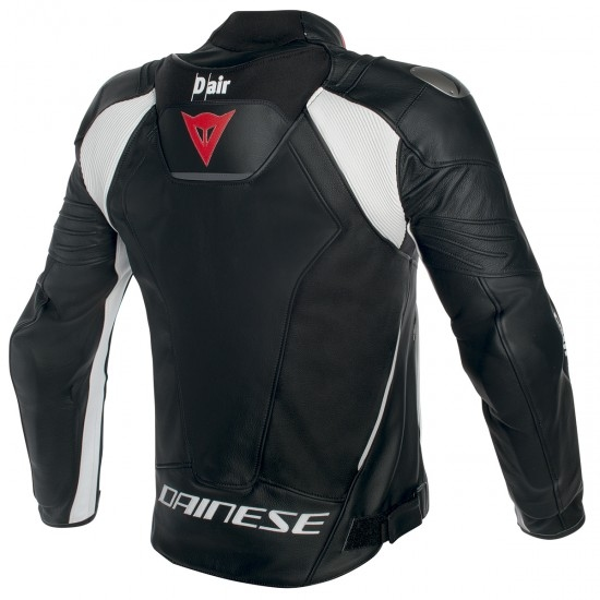 DAINESE Misano D-Air Black / White Jacket