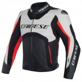 DAINESE Misano D-Air White / Black / Fluo-Red