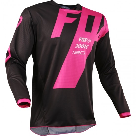 Maillot off road FOX 180 2018 Mastar Black