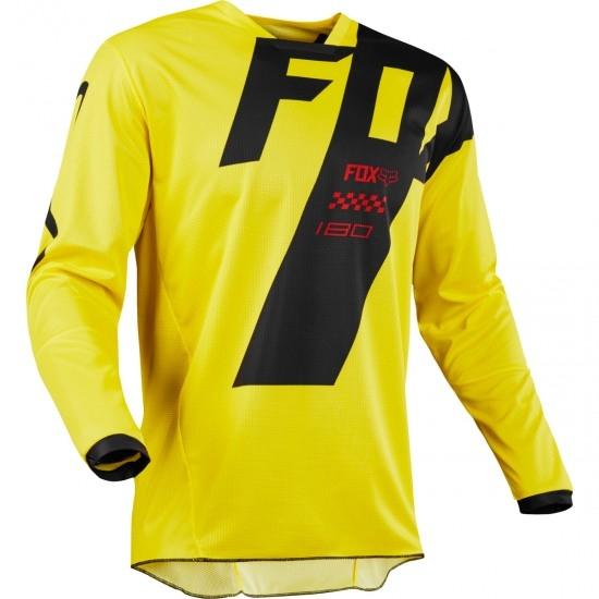 Camiseta FOX 180 2018 Mastar Yellow