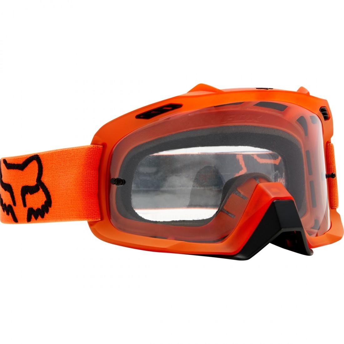 Gafas fox air space orange clear · motocard