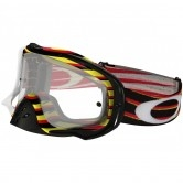 OAKLEY Crowbar MX Nemesis Red / Yellow Clear
