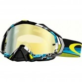 OAKLEY Mayhem Pro MX Legacy Blue 24K Iridium
