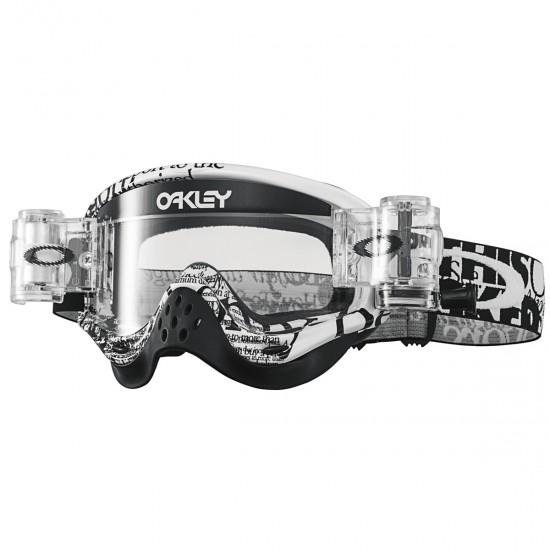 OAKLEY O Frame MX Race Ready Tagline Black / Clear Mask / Goggle ...