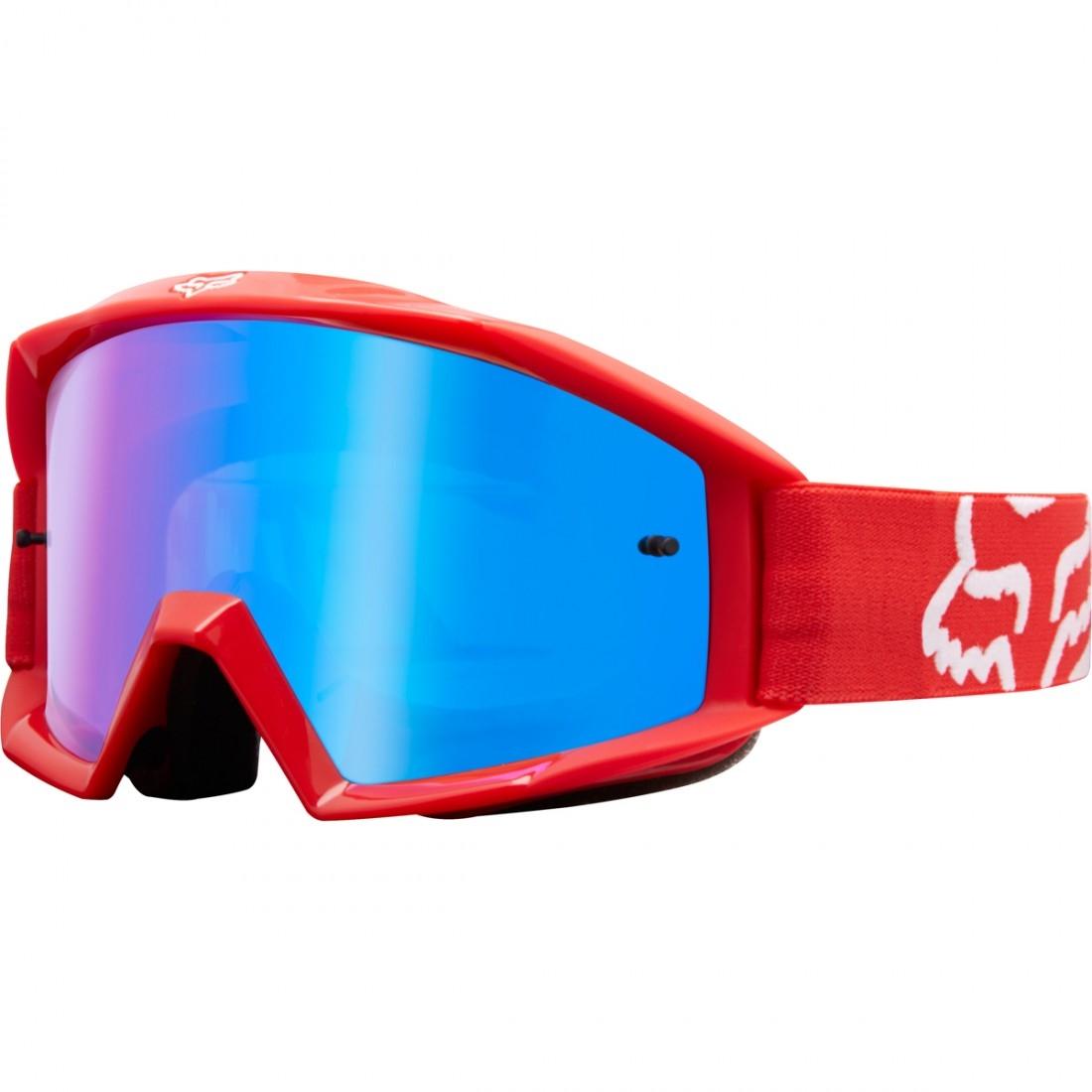 Óculos FOX Main Junior Race Red   Spark Blue · Motocard bafb5c0526