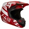 Casco FOX V1 Sayak 2018 Junior Red