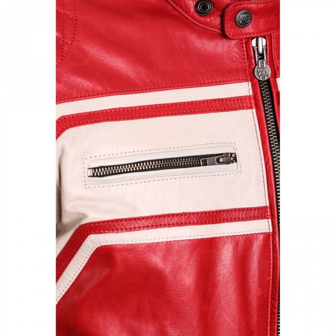 · Segura Motocard White Jones Chaqueta Red IaCqHHw