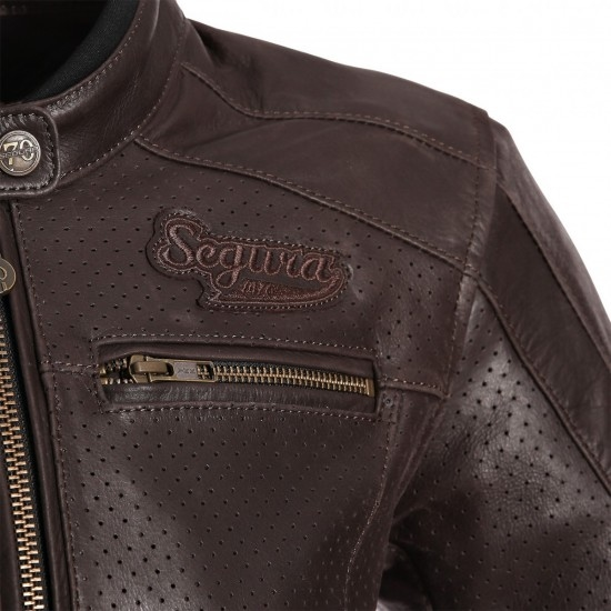 Jacke SEGURA Iron Lady Brown