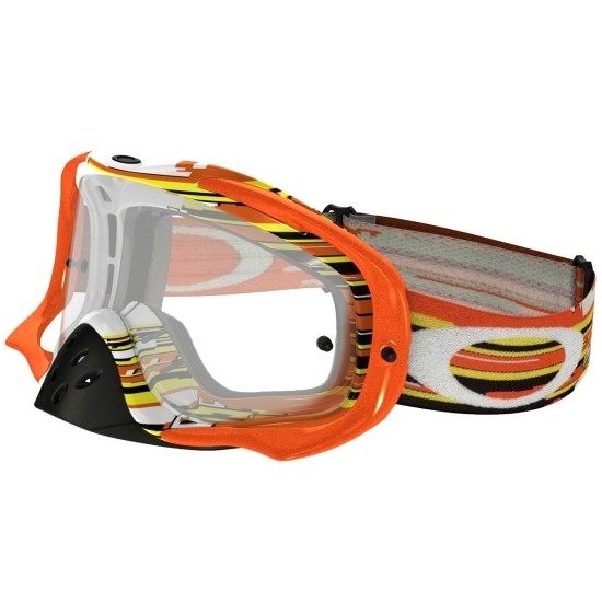 Gafas OAKLEY Crowbar MX Glitch Orange / Yellow Clear