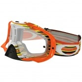 OAKLEY Crowbar MX Glitch Orange / Yellow Clear