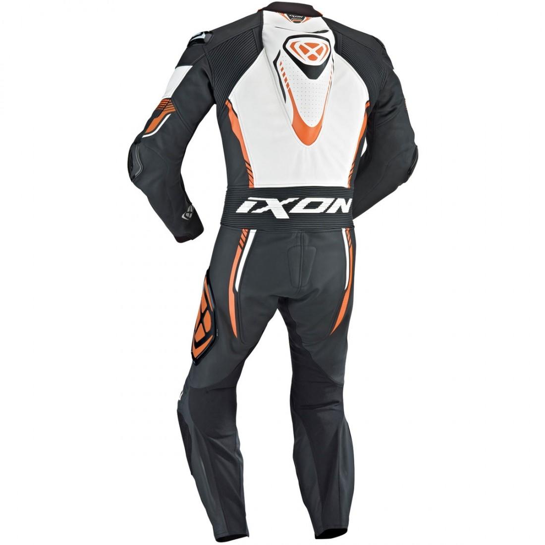 c98136bab17 Traje   Mono IXON Vortex Professional Black   White   Orange · Motocard
