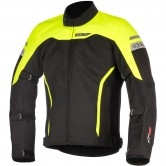 ALPINESTARS Leonis Drystar Air Black / Yellow Fluo