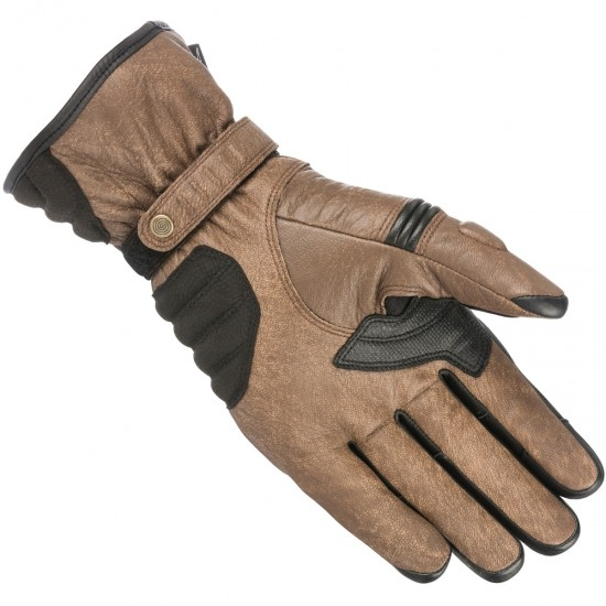Gants ALPINESTARS Cafe Divine Drystar Brown / Black