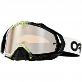 OAKLEY Mayhem Pro MX Factory Fade Black / White Frame / Black Iridium