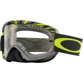 OAKLEY O2 MX RPM Gunmetal / Green Clear