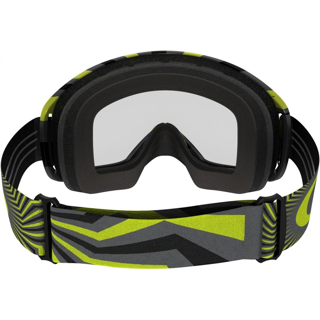 effbb31f874 OAKLEY O2 MX RPM Gunmetal   Green Clear Mask   Goggle · Motocard