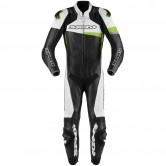 Race Warrior Perforated Pro Professional Black / Green Kaw