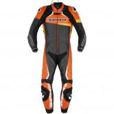 Race Warrior Perforated Pro Professional Black / Orange
