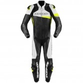 Race Warrior Perforated Pro Professional Black / Yellow Fluo