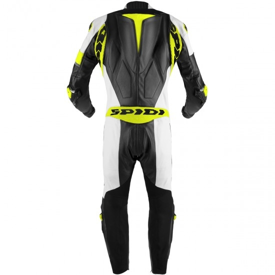 Anzug / Kombi SPIDI Race Warrior Perforated Pro Professional Black / Yellow Fluo