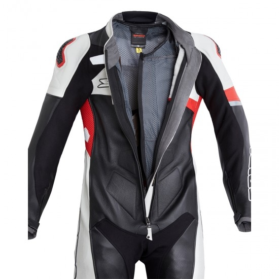 Anzug / Kombi SPIDI Race Warrior Perforated Pro Professional Red