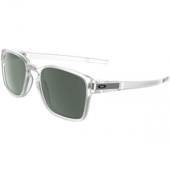Máscara   Óculos OAKLEY Latch Square Matte Clear   Dark Grey · Motocard 0482119b90