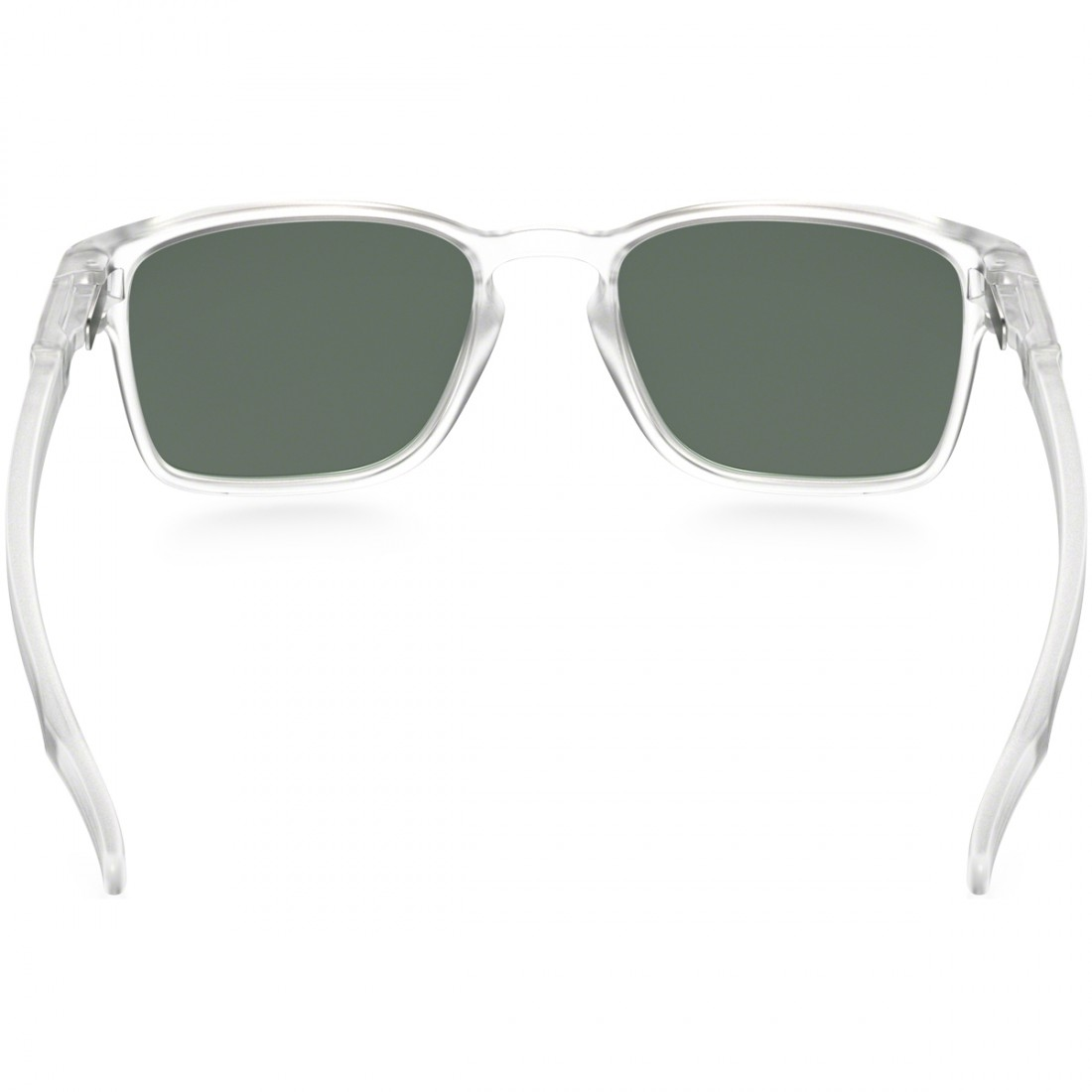Óculos de sol OAKLEY Latch Square Matte Clear   Dark Grey · Motocard 8f99caa6a0