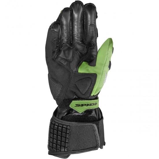 Guantes SPIDI Carbo 5 Black / Green Kaw