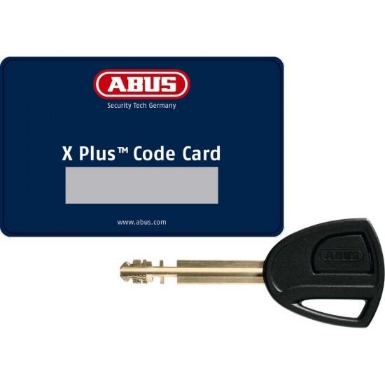 Antirrobo ABUS Granit Detecto X-Plus 8077 12 KS Black Loop Yellow