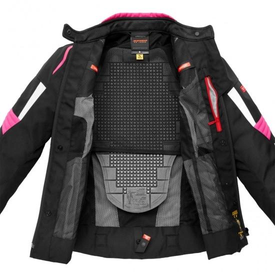 SPIDI Tronik Tex Lady Black / Fuchsia Jacket