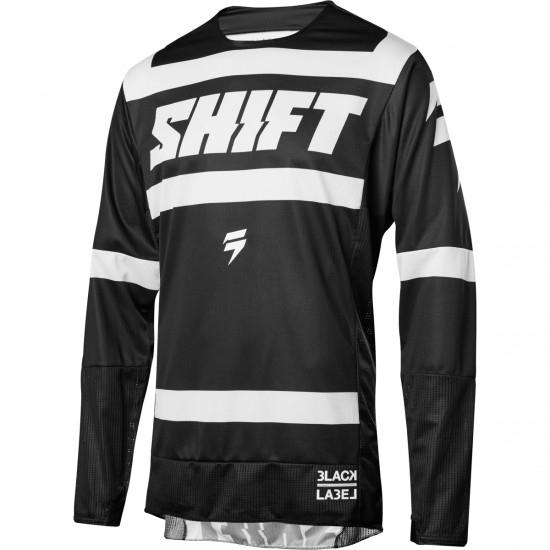 Camiseta SHIFT Black Label Strike 2018 Black / White