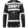 Jersey SHIFT Black Label Strike 2018 Black / White