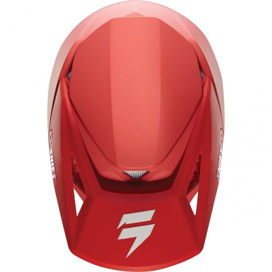 Casco SHIFT White Label Red