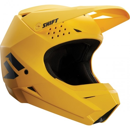 SHIFT White Label 2018 Yellow Helmet