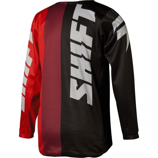 SHIFT White Label Tarmac 2018 Junior Black / Red Jersey