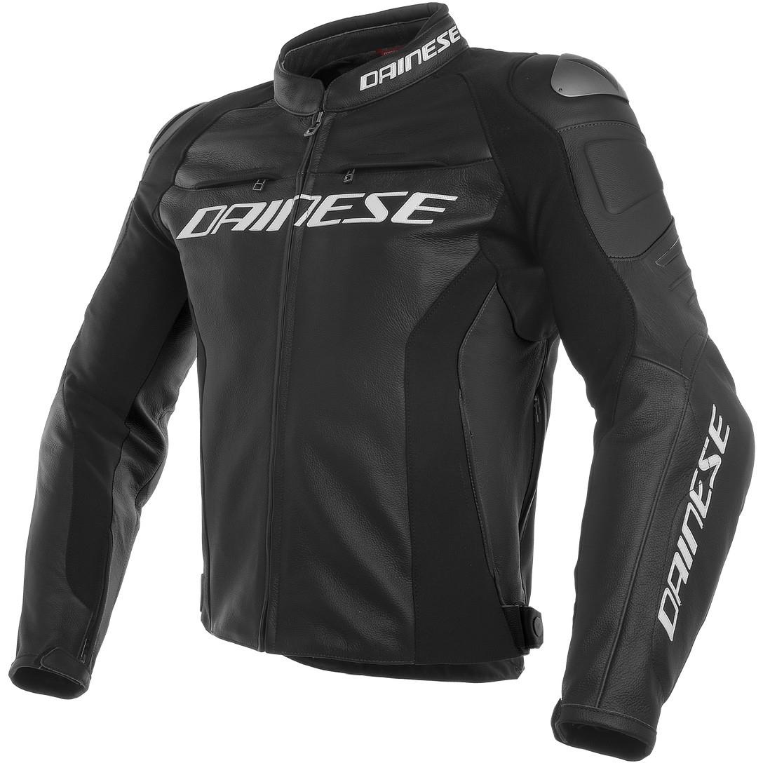 Dainese Racing 3 Black Jacket 183 Motocard