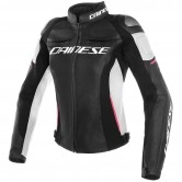 Racing 3 Lady Black /White / Fuchsia