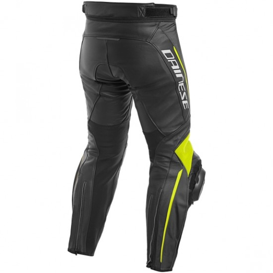 DAINESE Delta 3 Black / Fluo-Yellow Pant