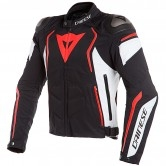 DAINESE Dyno Tex Black / White / Fluo-Red