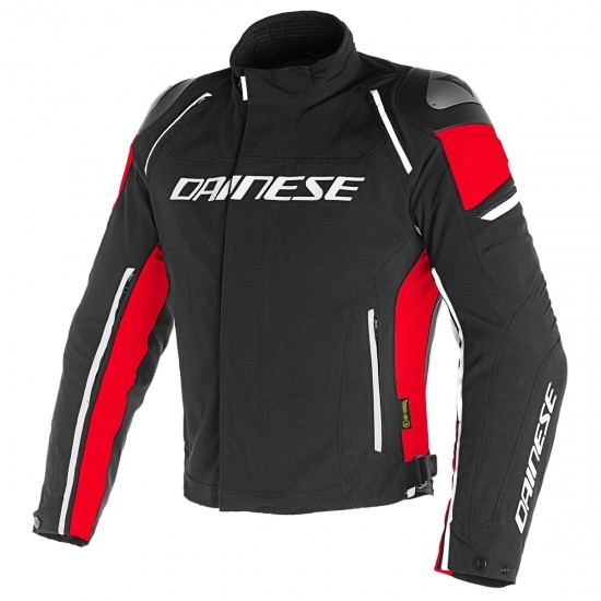 DAINESE Racing 3 D-Dry Black / Red Jacket