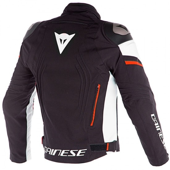 Chaqueta DAINESE Racing 3 D-Dry Black / Vapor-Blue / Red-Orange