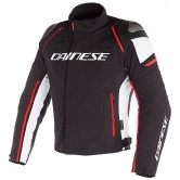 DAINESE Racing 3 D-Dry Black / White / Fluo-Red