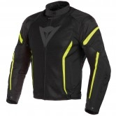 DAINESE Air Crono 2 Tex Black / Fluo-Yellow