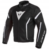 DAINESE Air Crono 2 Tex Black / White