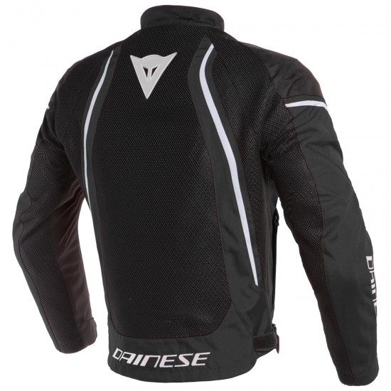 Chaqueta DAINESE Air Crono 2 Tex Black / White