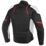 Blouson DAINESE Air Master Tex Black / Glacier-Gray / Fluo-Red